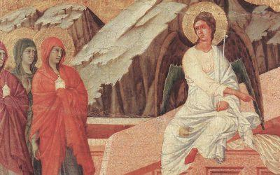 A Resurrection to see in the Siena Cathedral Museum