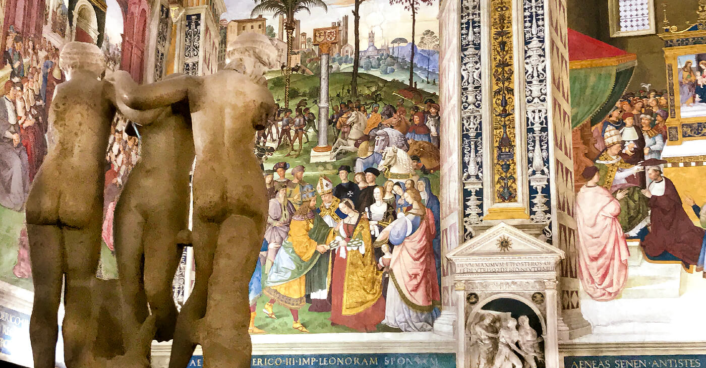 The Piccolomini Library of Siena, a jewel of Italian Renaissance