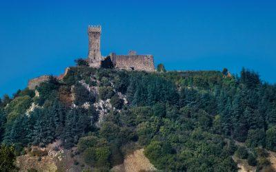 A visit to Radicofani, the out of law's castle in Val d'Orcia