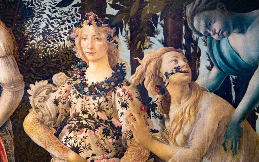 The Primavera by Botticelli and its mysterious plants