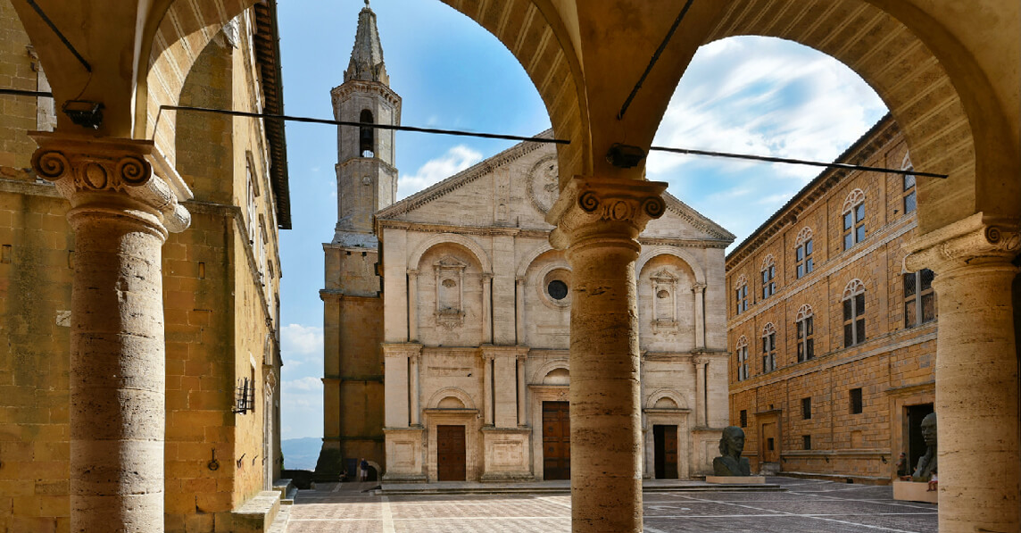 The UNESCO twenty years of Pienza