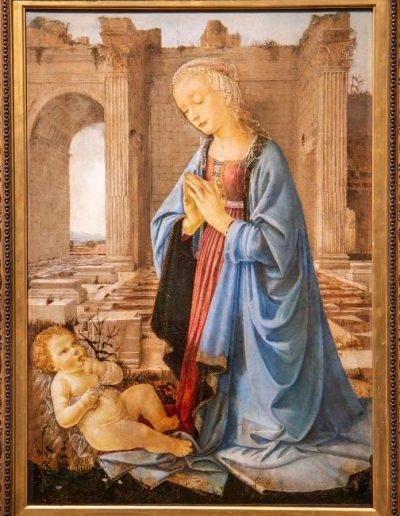 The Ruskin Madonna, Ghirlandaio, National Gallery, Edinburgh