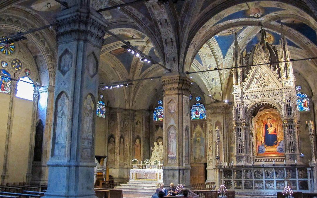 The fascinating story of Sant'Anna in the Church of Orsanmichele in Florence