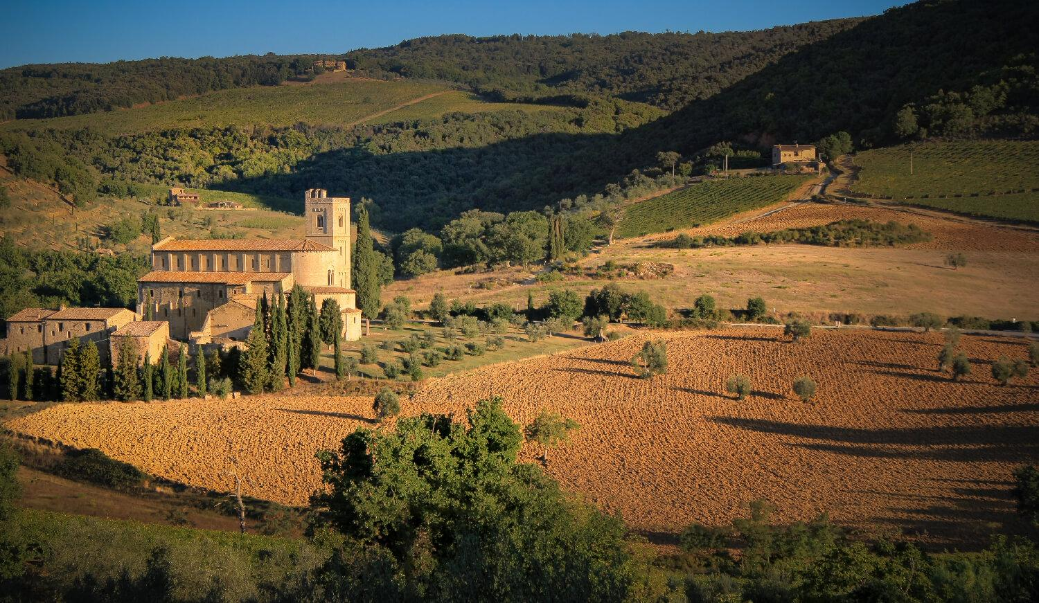 montalcino sant'antimo abbey tour