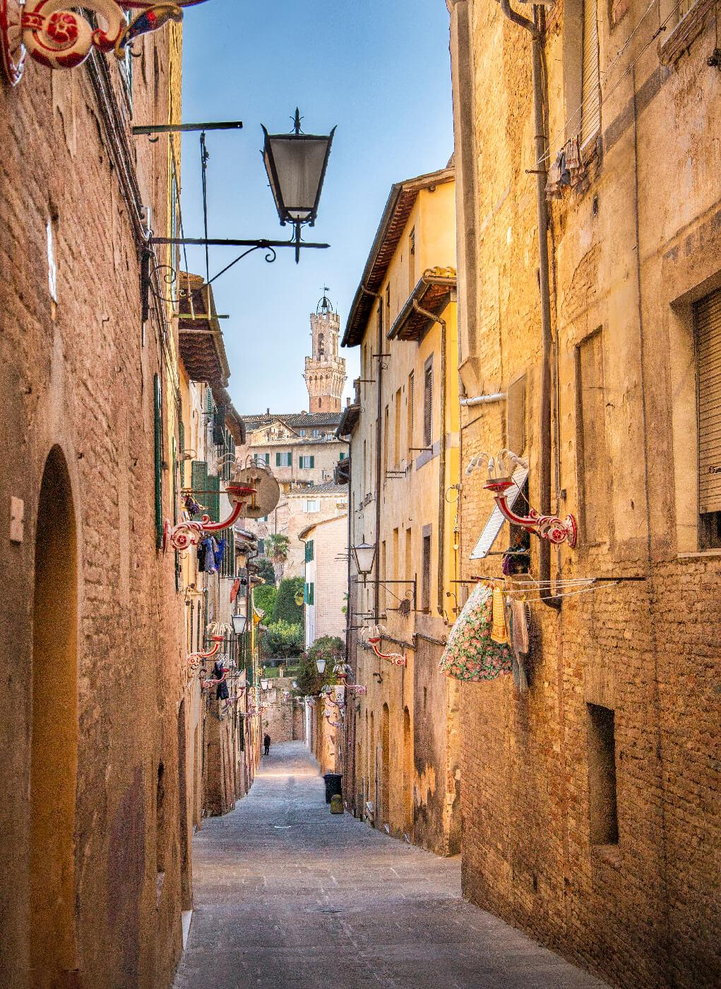 siena walking tour