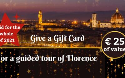 Ideas for a Gift Card: what about a guided tour of Florence?